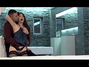 XxxShades - French Tiffany dame likes a sultry manstick