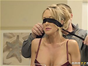 The hubby of Brandi love lets her plumb a different boy