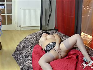 AgedLovE Lacey Starr multiracial gonzo action