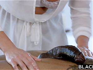 BLACKED Samantha Saint Cant resist big black cock and butt licking