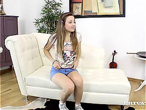 Taissia Shanti, Russian teen in a porn gig...