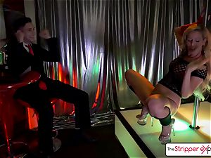 Cherie DeVille let you pummel her taut pink muff