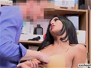 killer Shoplifter Sophia Leone entice LP into strenuous fuck-a-thon