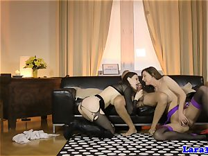 glamour mature cummed in mouth in threesome