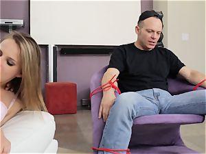 Jillian Janson screws her lover in front of her stud