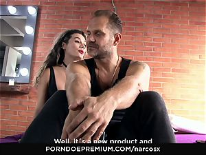 NARCOS X - heavy orgy and filthy cumshots with Latinas