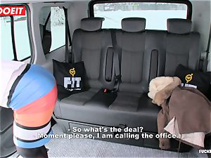 LETSDOEIT - Czech mega-bitch Tricked and romped By taxi Driver