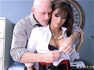 Reena Sky drills her phat dicked playmate