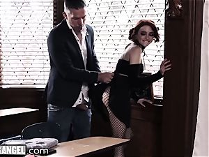 punk milking In Detention is anally punished