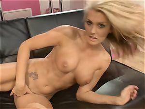 Natasha Marley enjoys teasing her juicy raw gash