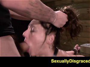 FetishNetwork Fiona Rivers ass fucking training
