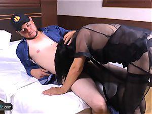 AgedLovE super-naughty Mature Latina gal hard-core fucky-fucky