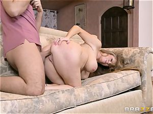 cougar Darla cane face covered in jizm