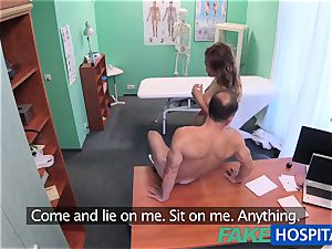 FakeHospital physician bangs minx in job interview