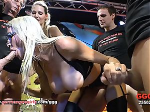 big-chested Mature Emma Starr spunk thirsty in Germany - GGG