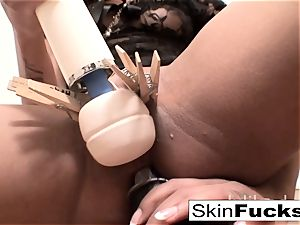 very crazy cunt have fun with skin Diamond