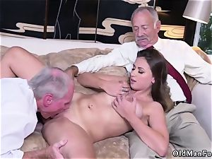 father acquaintance s associate unexperienced hard-core Ivy amazes with her giant boobies and ass