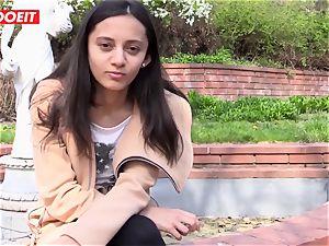 LETSDOEIT - wild teen enjoys touching Her joy button to ejaculation