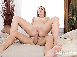 first anal invasion bang-out vid for tiny bap sweetie Rita Milan
