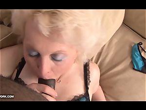 black prick longing for granny in xxx bi-racial