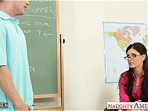 sweetheart India Summer wants a younger stiffy to satisfy her