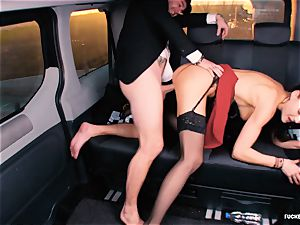 torn up IN TRAFFIC - british Tina Kay poked in the car