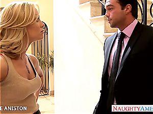 splendid light-haired Nicole Aniston gets nailed