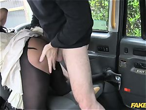 fake cab ebony gets down and filthy