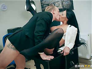 Candy Caine office orgasms