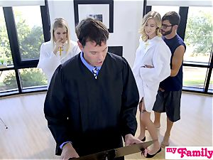 Church stunner pounds brother Behind Dads Back! S1:E4
