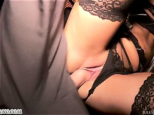 Romi Rain - outstanding super-hot inexperienced pornography in the street