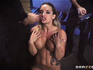 mass ejaculation for jism craving blond Cali Carter