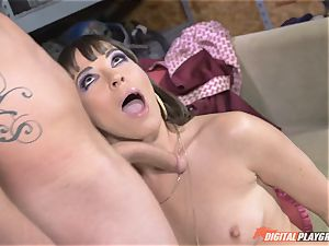 Dana DeArmond gets her cool tight coochie tongued and toyed with