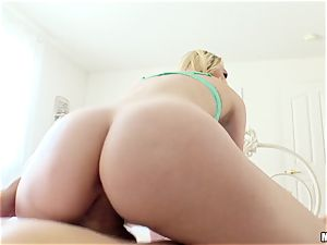 Lily Rader caught messing with her beaver crevice