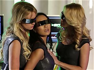 bang-out Bots Part 1 with Asa Akira Jessica Jame and Stormy Daniels