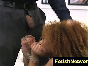 BrutalCastings Kendall woods black bondage & discipline