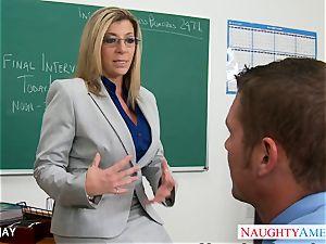 milf instructor Sara Jay boink schoolgirl