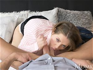 mummy Housewife face smacking and predominant her spouse