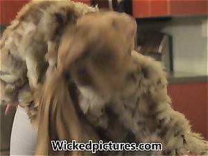 Russian bride Lea Lexus bags herself a husband