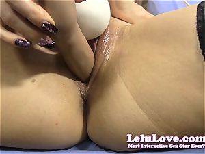 super closeup bunghole and slit shots with my fake penis