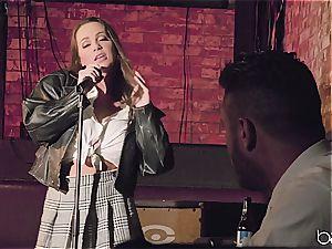 Abigail Mac sings well but she pummels better